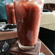 Hot green chile Bloody Mary