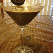 Oreo cookie martini