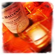 The Balvenie Single Barrel 15 year old Scotch Whiskey