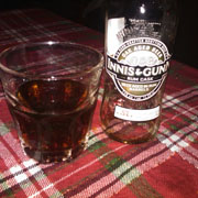 Innis and Gunn Rum Cask aged Scottish beer