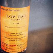 Low Gap Clear Whiskey