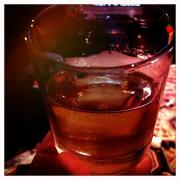 Makers Mark on the rocks