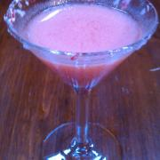 Candy Cane Peppermint Martini