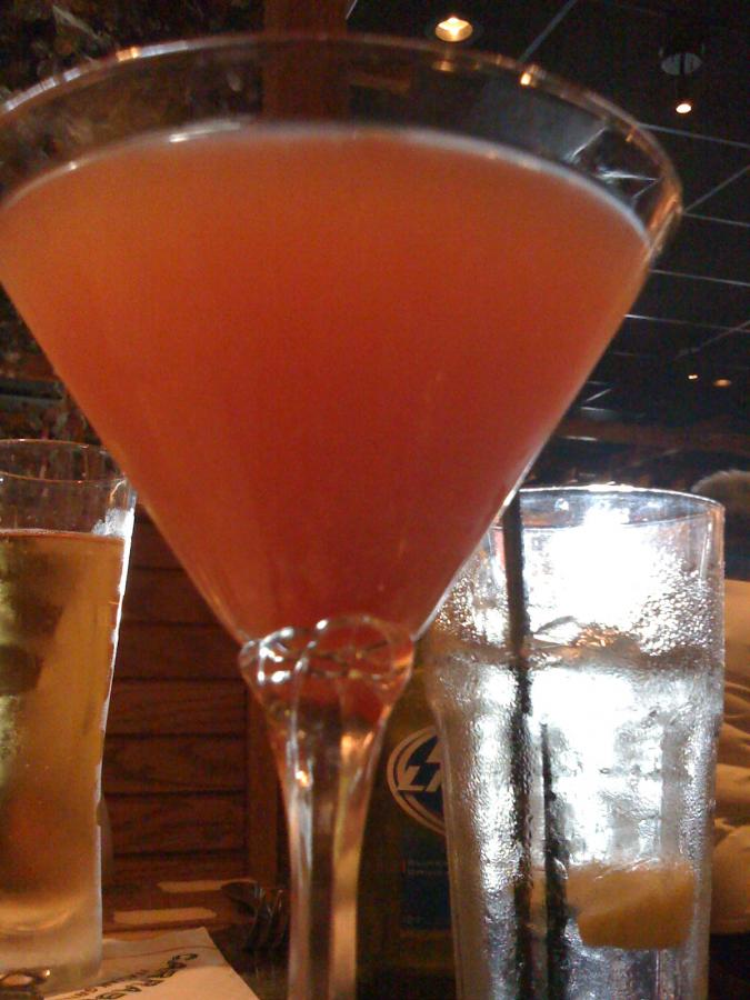how to make pomegranate martini from scratch